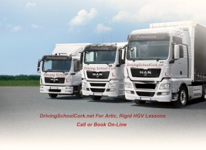 Our Range of Rigid, Artic and HGV Trucks in Cork