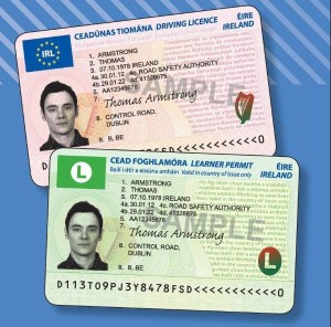 Driving lesson licence 2013 Cork