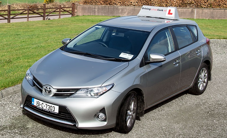 Russian Driving Lesson Cork School Instructor New Toyota Auris